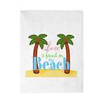Beach Love Twin Duvet