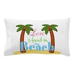 Beach Love Pillow Case