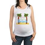 Beach Love Maternity Tank Top