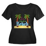 Beach Love Plus Size T-Shirt