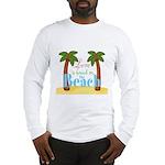 Beach Love Long Sleeve T-Shirt