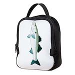 European Seabass Bass Neoprene Lunch Bag