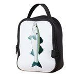 European Seabass Bass Neoprene Lunch Bag