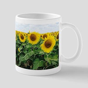 Sunflowers in Texas Mugs