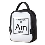 95. Americium Neoprene Lunch Bag