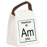 95. Americium Canvas Lunch Bag