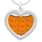 Orange and Black Necklaces