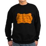 Orange and Black Sweatshirt