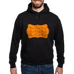 Orange and Black Hoodie