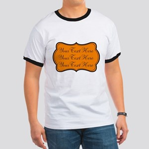 Orange and Black T-Shirt