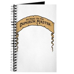 Cos I'm The DM! Journal