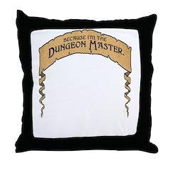 Cos I'm The DM! Throw Pillow