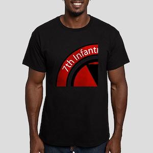 7th Infantry Men's Fitted T-Shirt (dark)