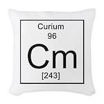 96. Curium Woven Throw Pillow