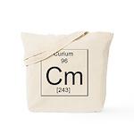 96. Curium Tote Bag