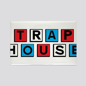 Trap house RWB Magnets