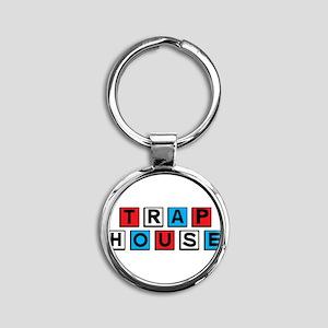 Trap house RWB Keychains