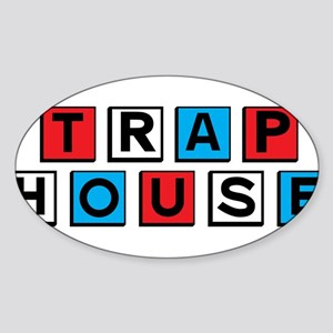 Trap house RWB Sticker