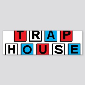 Trap house RWB Bumper Sticker