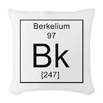 97. Berkelium Woven Throw Pillow