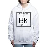 97. Berkelium Women's Hooded Sweatshirt