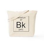 97. Berkelium Tote Bag