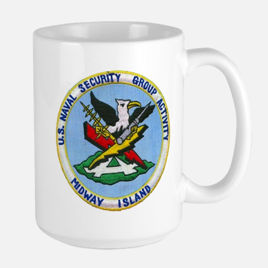 NAVAL SECURITY GROUP ACTIVITY, MIDWAY ISLANDS Mugs