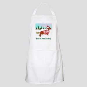 """BELLS ON BOB'S TAIL RING"" BBQ Apron"