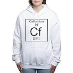 98. Californium Women's Hooded Sweatshirt