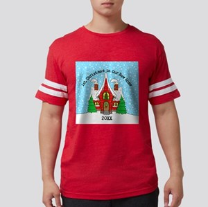 1st Xmas in our new home T-Shirt