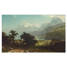 Bierstadt,Lake Lucerne Poster