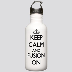 Keep Calm and Fusion O Stainless Water Bottle 1.0L