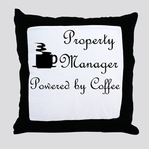 Property Manager Throw Pillow