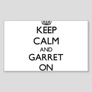 Keep Calm and Garret ON Sticker