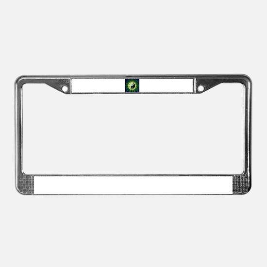 yylotus License Plate Frame