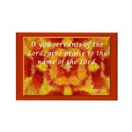 Psalm 113:1 Rectangle Magnet (10 pack)