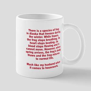 Species of frog Mug