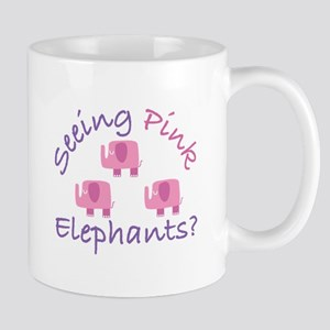 Seeing Pink Elephants? Mugs