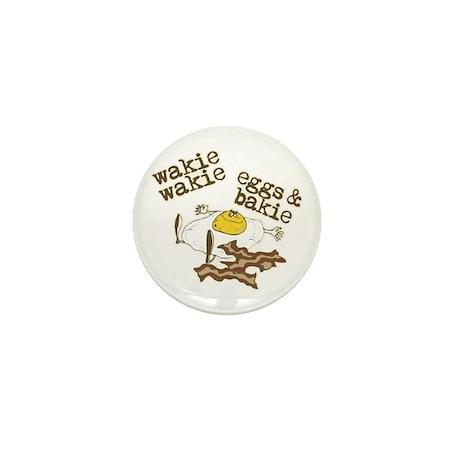 Wakie Wakie Eggs & Bakie Mini Button (100 pack)