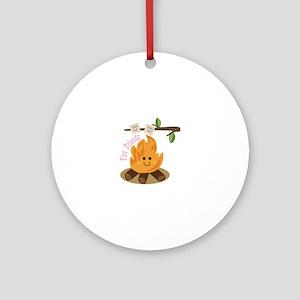 Fire Friends Ornament (Round)