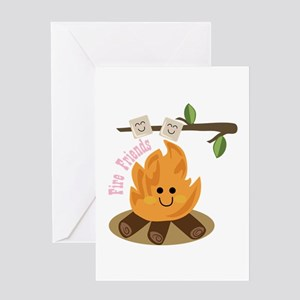 Fire Friends Greeting Cards