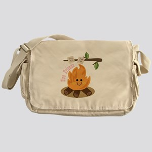 Fire Friends Messenger Bag