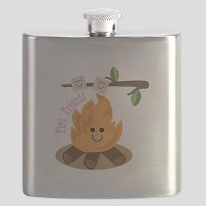Fire Friends Flask