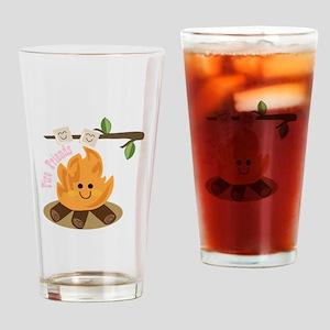 Fire Friends Drinking Glass