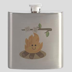 Marshmallow Fire Flask