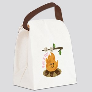 Warm & Cozy Canvas Lunch Bag