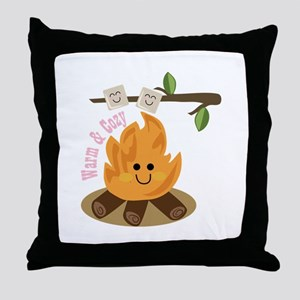 Warm & Cozy Throw Pillow