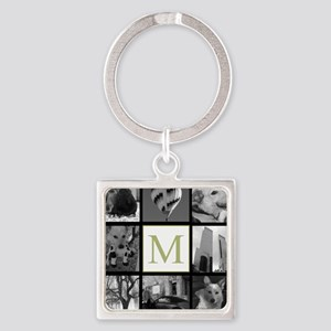 Big Photo Block and Monogram Keychains