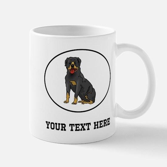 Custom Rottweiler Mugs