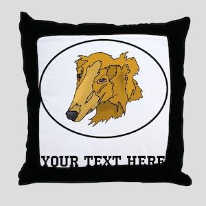 Custom Goldendoodle Throw Pillow